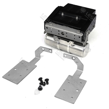 1/14 Rc Truck Volvo-FH16 FH12 56360 750 6X4 Battery Box Gas Tank Tail Beam Lamp Holder Set Tamiya Toy Tractor Universal Parts