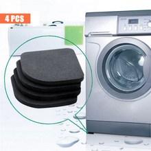 Refrigerator Bathroom-Mat Washing-Machine Kitchen Shock-Pads Anti-Vibration-Pad Non-Slip