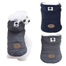 Утолщенная теплая куртка для собак; зимняя одежда для собак; Одежда Для Пуделя; одежда для домашних животных; Прямая поставка