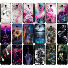 Soft TPU Case for Meizu m2 note Case 5.5 inch Paiting Art Silicon Back Cover For Meizu M2 NOTE Meilan Note 2 Phone Cases Cover