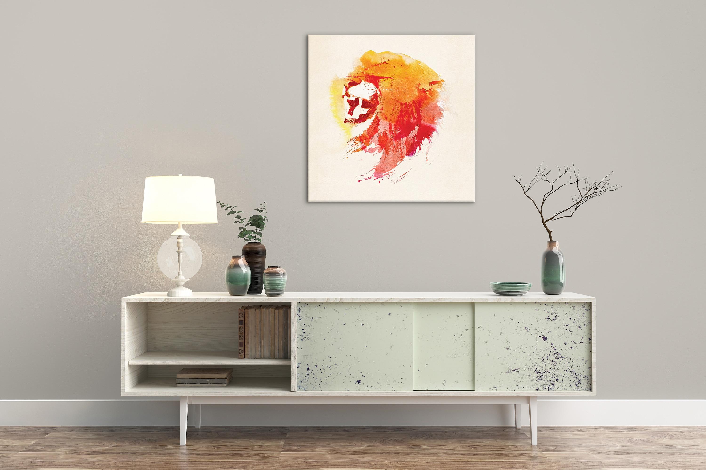 Abstrakte Bär mit Berg Wand Kunst Dekor Leinwand Malerei Küche Drucke Bilder für Haus Wohnzimmer Esszimmer - 2