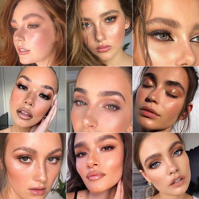 Beckisue Eyebrow Kit Pomade Cosmetics Makeup Gel Soap Cosmetics Balm Styling Eyebrow Tint Pomade Waterproof Brow Lasting 3D Wild 2