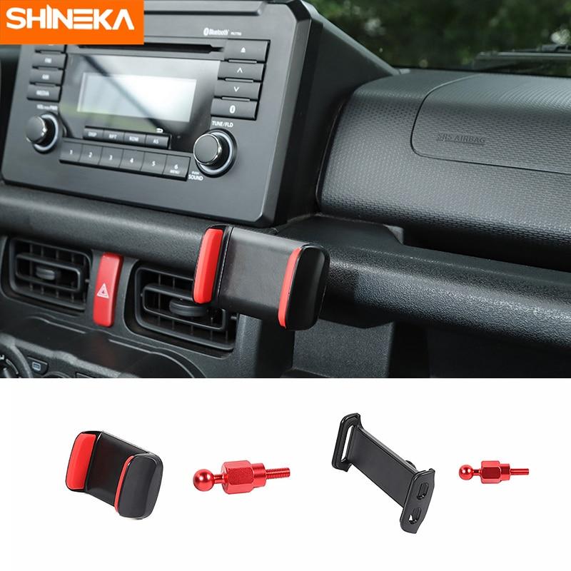 SHINEKA Car bracket For Suzuki Jimny Car Mobile Phone Holder Tablet Stand Bracket Accessories Kits For Suzuki Jimny 2019
