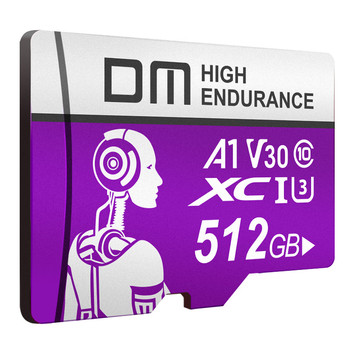 DM TF Memory Card 256GB 128GB 64GB 32GB 16GB C10 U3 95MB / S High Speed TF Memory Card For Smart Phone Tablet DVR Drone