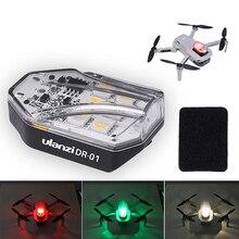 Ulanzi DR MAVIC Mini Drone Dji 01 RGB Strobe Luz Anti Colisão Luz Iluminação Noturna Indicadoras de Vôo Zangão holofote
