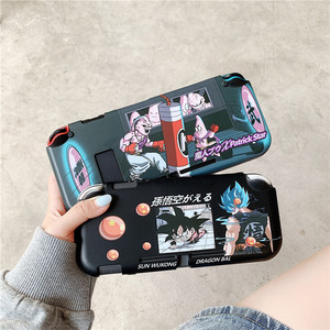 Image 1 - Fashion Cute Cartoon Anime Case For Nintendo Nintend Switch NS NX Cases Cute Silicone Back Cover For Switch Lite Game Case Funda