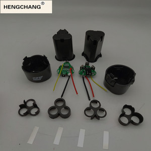 Image 1 - 핸드 드릴 키트 액세서리 전기 스크루 드라이버 3s bms 리튬 이온 12.6V 18650 핸드 전기 드릴 pcb 배터리 보관 케이스 상자