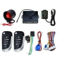 Zentralverriegelung Auto Auto Alarm Wegfahrsperre System Mit Horn Warnung Sirene Sensor Fernbedienung Türschloss Automation Sicherheit