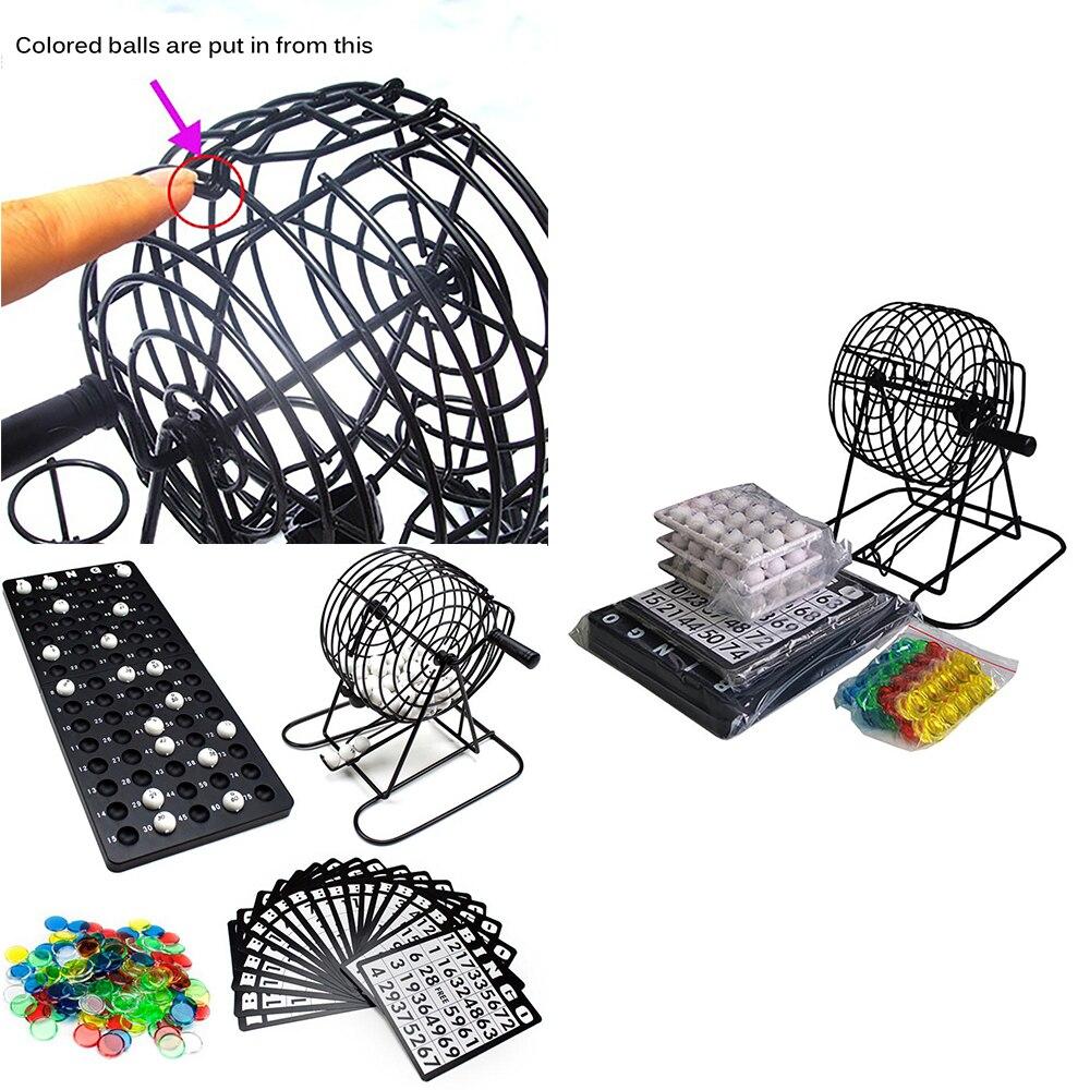 de Mesa Puzzle Partido Sorteio Jogo Bingo Conjunto Bola