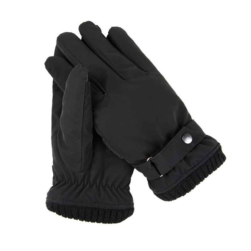 Winter Waterproof Gloves Coral Velvet Lining Warm Mittens Touch Screen Full Finger Motorcycle Ski Gloves