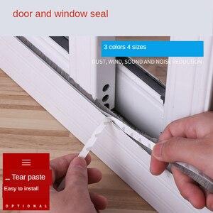 Image 3 - 10 מטרים עצמי דבק איטום רוח הוכחה מברשת רצועת עבור בית דלת חלון בידוד קול רצועת אטם
