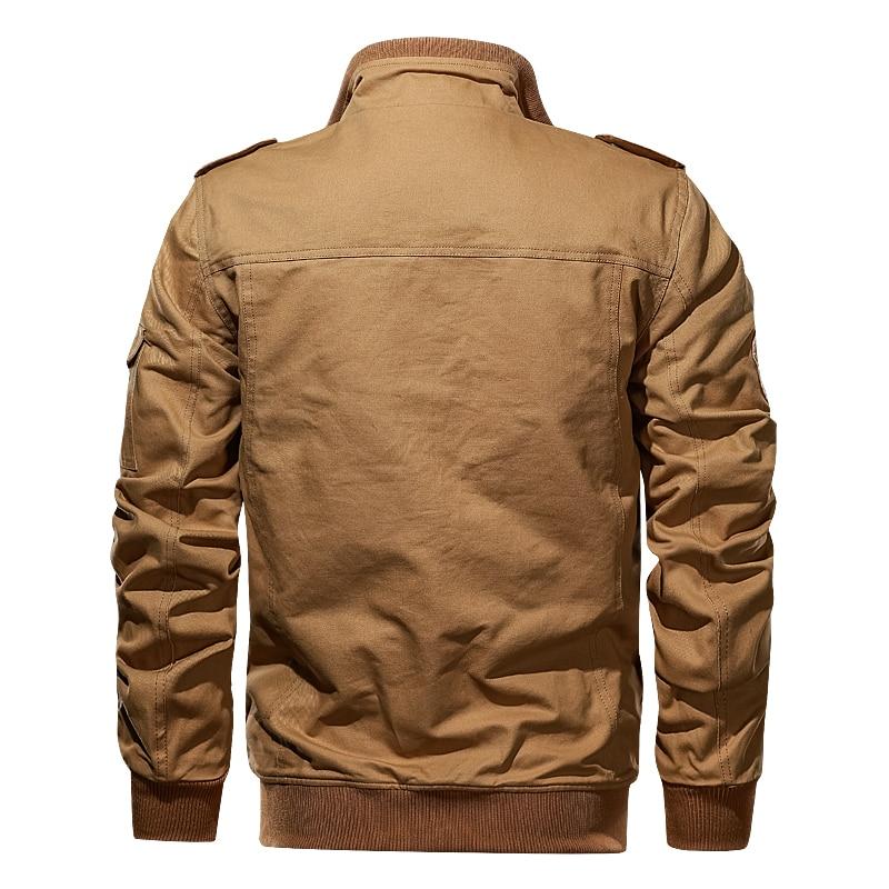 Мужская куртка пилота на весну и осень, военная тактическая куртка, Мужская ветровка, куртка-бомбер, армейская куртка, Мужская куртка 6XL