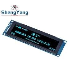 """ShengYang pantalla OLED Real 3,12 """"256*64 25664 Dots, gráfico módulo LCD, pantalla LCM, controlador SSD1322, compatible con SPI"""