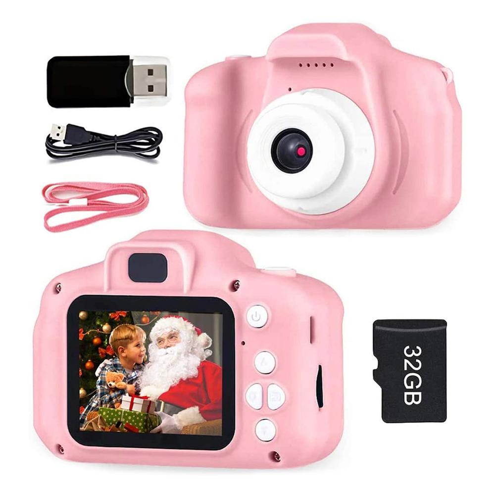 Детская мини-камера, образовательные игрушки для детей, детские подарки, подарок на день рождения, цифровая камера 1080P, проекционная видеока...