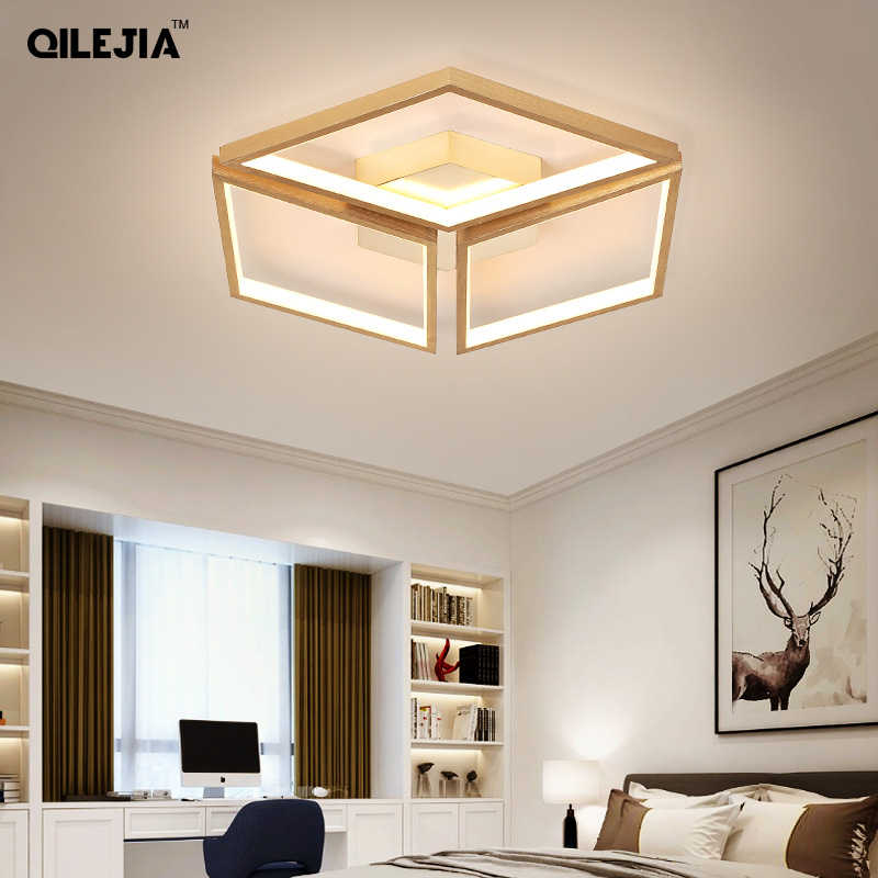 Luzes de teto corpo ouro para sala estar quarto led lustres grandes luminárias teto AC85-260V