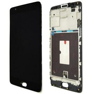 Image 3 - 100% Được Kiểm Tra 5.5 OLED Màn Hình LCD Khung Cho Oneplus 3 A3000 3T A3010 Màn Hình Bộ Số Hóa Cảm Ứng chi Tiết Sửa Chữa