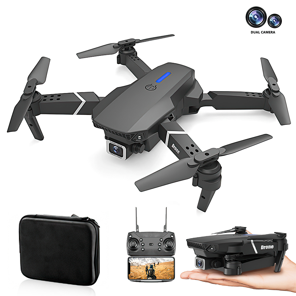 Travor camera Drone Quadrotor Wing Foldable Drone HD 4K Camera Lens  Remote Control Plane Aerial For Photography Video Shooting
