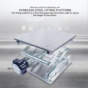 Stół podnoszący ze stali nierdzewnej stół podnoszący do drewna rzeźba laboratoryjna platforma podnosząca platforma podnosząca platforma podnosząca tanie i dobre opinie lift table