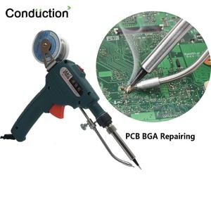 Image 5 - 110V/220V 60W Hand held Internal Heating Tin Electric Soldering Iron Kit Automatic Send Tin Gun Solder Repair Welding Tools