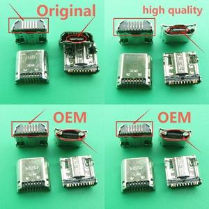 Image 1 - 10 개/몫 마이크로 USB 플러그 충전 포트 커넥터 소켓 삼성 탭 3 7.0 I9200 I9205 P5200 P5210 T530 T210 T211 T311 I9208
