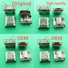 10 pçs/lote Plugue Micro USB Cobrando Conector de Porta Tomada Para Samsung Tab 3 7.0 I9200 I9205 P5200 P5210 T530 T210 T211 T311 I9208