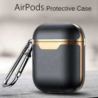 Luxury coque Super Leather funda Earphone Case For AirPods Pro 3 2 Earphone Headphones Cases For Air pods 2 Protective Cover