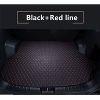 5 Colors New Car Rear Trunk Mat For Volkswagen Golf 7 Golf 7.5 2014 2015 2016 2019 Cargo Tray Boot Liner Carpet Custom Fit