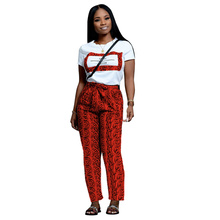 Echoine Letter Print Tee Shirt Pants Set Two Piece Snake Women Ttracksuit Casual Summer Trousers Suit Streetwear