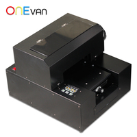 ONEVAN.2019 뜨거운 판매 A4 Uv 프린터 평판 인쇄 기계 저렴 한 가격. 자동 uv 프린터 무료 배송