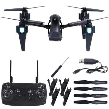 Remote Control Drone Four Axis WiFi Alloy Drone Altitude Hold Quadcopter With HD Camera One-Button Takeoff RC Helicopter Drone