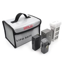 Li-po чехол для хранения батареи огнеупорный взрывозащищенный термостойкий чехол для хранения для DJI Mavic Mini DJI Mavic 2Pro/Zoom