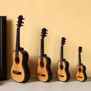 1//6 spielzeug e gitarre skala modell für home schreibtisch dekor ornamente
