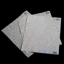 3 pieces Quilted Maple  Electric Guitar Veneer Guitar Body Veneer Guitar Parts High Quality530*360*0.5mm
