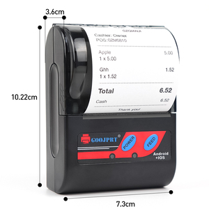 Image 3 - Impresora térmica Bluetooth de 58mm y 2 pulgadas, Mini Impresora inalámbrica portátil de bolsillo para teléfono Android, Windows, aplicación gratuita Loyverse