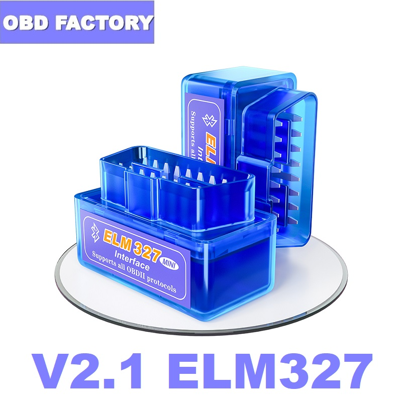 OBD2 Scanner Adapter ELM Code-Reader Elm327 Bluetooth Android/pc for V2.1 BT title=