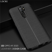 For Oppo A9 2020 Case Cover Silicone Shell Rubber Soft Back Bussiness Style Phone