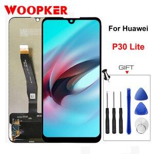 Оригинальный ЖК-дисплей 6,15 дюйма для Huawei P30 Lite, сенсорный экран для Huawei P30Lite, ЖК-дисплеи, запасные ремонтные детали