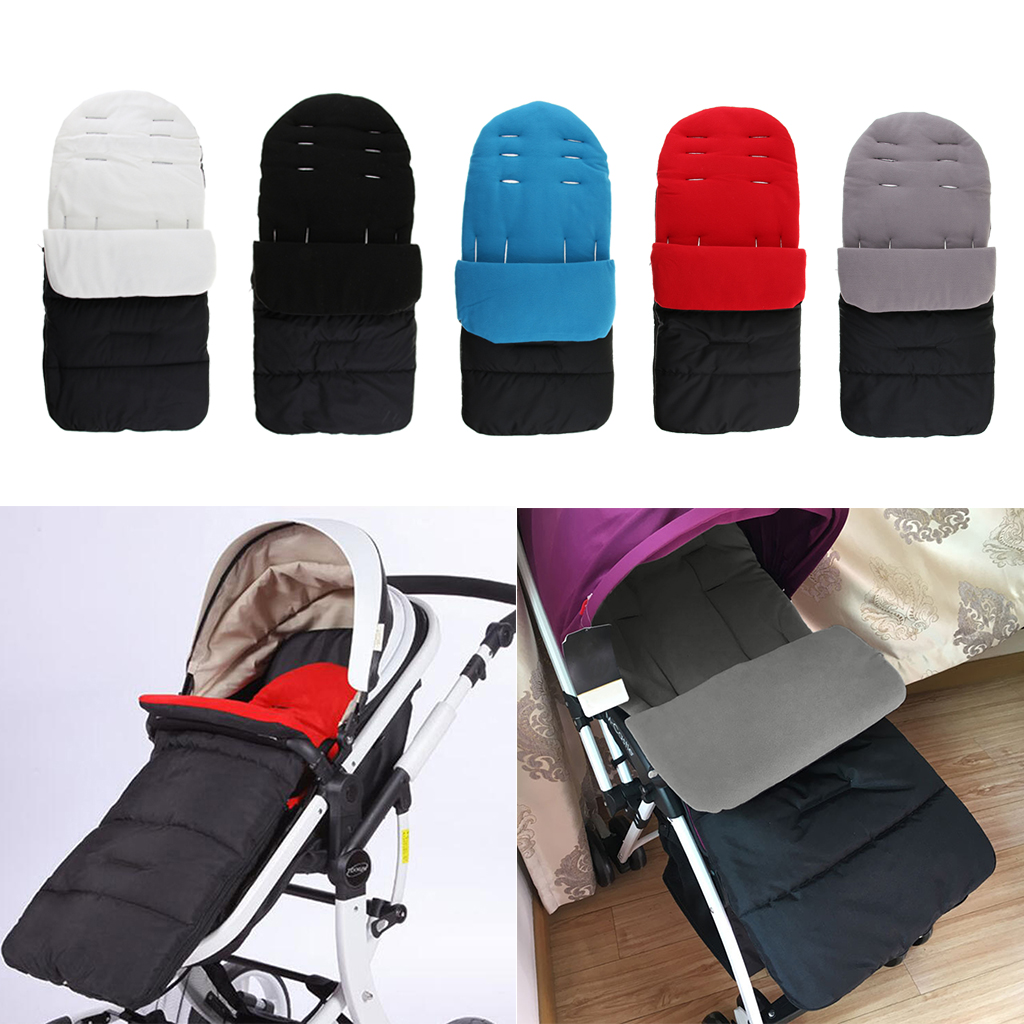 Universal 3-in-1 Stroller Sleeping Bag, Winter Footmuff Cover Bunting Bag For Baby Infant Newborn