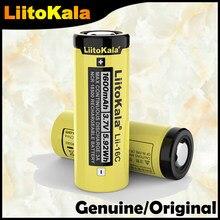 LiitoKala – batterie lithium-ion rechargeable, 2020 authentique 18500 1600mAh 3.7 V
