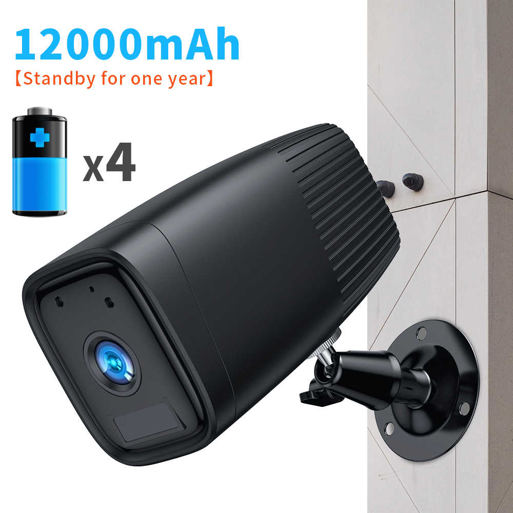 SDETER 1080P Oplaadbare Batterij Camera IP Wifi Camera Outdoor Indoor Weerbestendige Cctv Camera Nachtzicht Audio P2P