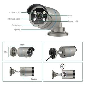 Image 3 - H.265 POE System CCTV 8CH 1080P zestaw monitoringu NVR 2MP nagrywanie dźwięku AI kamera IP IR na zewnątrz wodoodporny P2P zestaw nadzoru bezpieczeństwa wideo