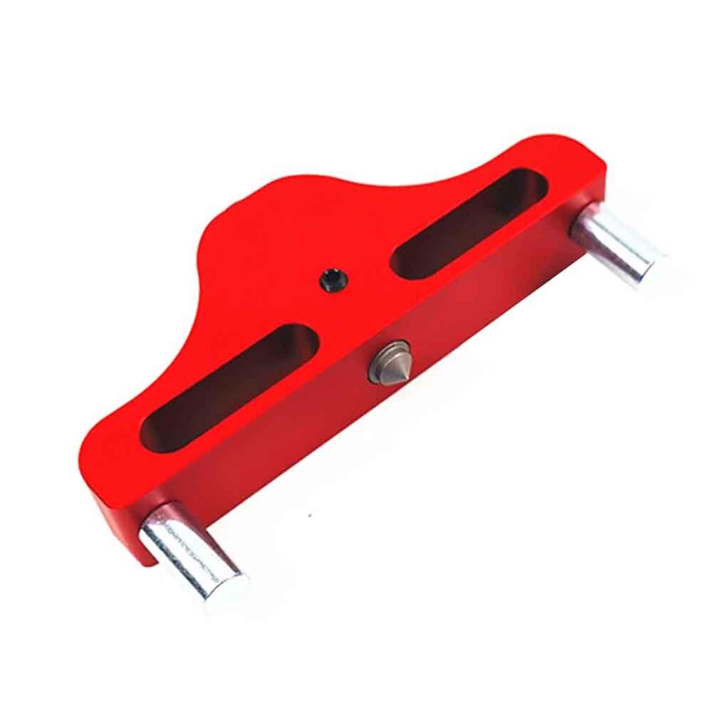 Sattel Scribe Gauge Zentrum Finder Holzbearbeitung Werkzeug Messung Aluminium Legierung DIY Linie Praktische Herrscher Kennzeichnung Tragbare