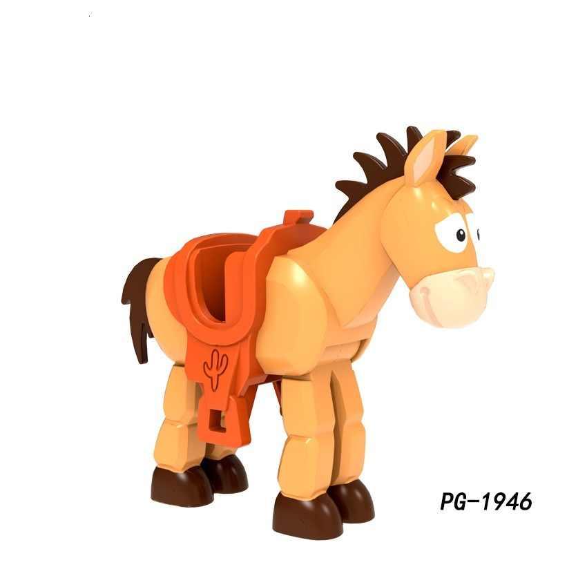 Brinquedos história forky woody jessie brinquedo aliens bulleye rex hamm legoed blocos de construção figura de ação diy modelo de brinquedo para crianças presentes