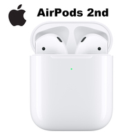 Apple AirPods 2nd with Wireless Charging Case TWS Bluetooth Headphone Stereo Music Sport Earbuds for iPhone iPad Mac Apple Watch