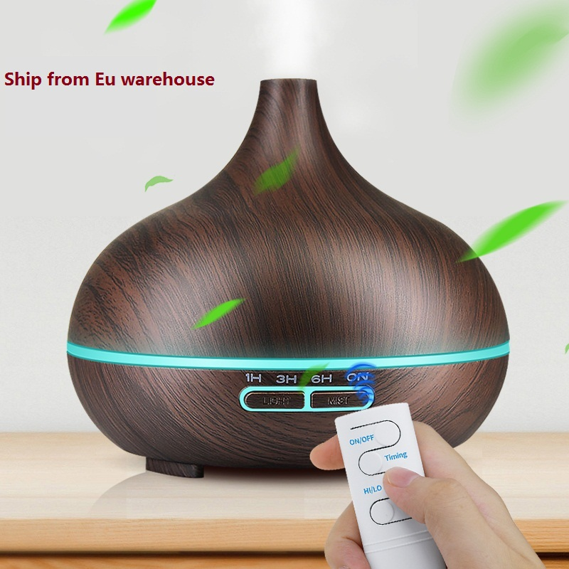 Kbaybo Ultrasonic Air Humidifier Essential Oil Diffuser Aroma Lamp Aromatherapy Electric Aroma Diffuser Mist Maker
