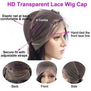 Image 5 - Celie HD dantel ön peruk düz dantel ön peruk 150 180 250 yoğunluk dantel ön İnsan saç peruk HD şeffaf dantel peruk