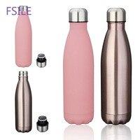 500 мл My Bottle двойная изоляция 304 нержавеющая сталь бутылка для воды спортивная термоизоляционная бутылка для напитков детская питьевая посуд...