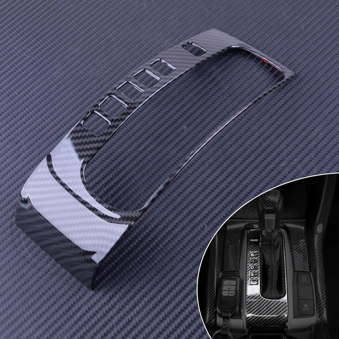 DWCX ABS Carbon Fiber Style Car Gear Shift Box Panel Cover Trim Mouldings Fit for Honda Civic 10th 2016 2017 2018