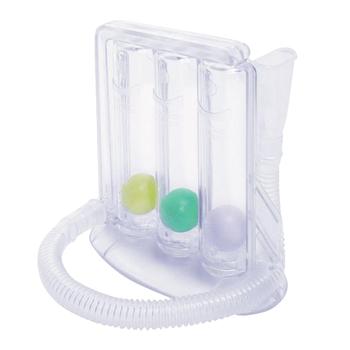 strong Import List strong Wital Capacity trener oddechowy motywacyjny spirometr płuca oddychanie Exerciser rehabilitacja przyrząd szkoleniowy trzy piłka Tester tanie i dobre opinie CN (pochodzenie) OD1634-00B Kompleksowe ćwiczenia Fitness other