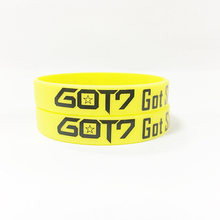 Group name Kpop Korean popular group silicone bracelet wristband For Group name custom jewelry